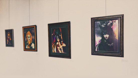 Virtual Fantasy Gothic Avatars Digital Art Exhibition by Peter Markov