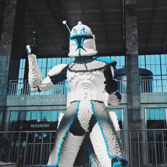 Star Wars Lego Expo @ Westbahnhof Wien