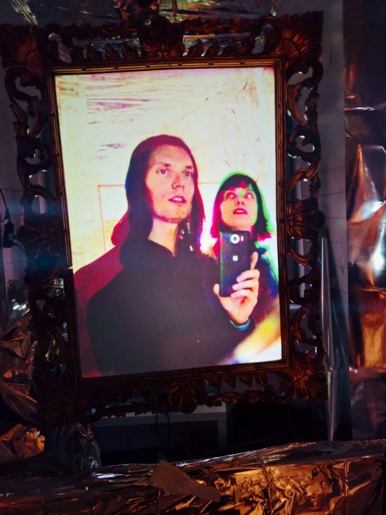 New Ego: Black Mirror Selfie Room @ Take Festival 2019