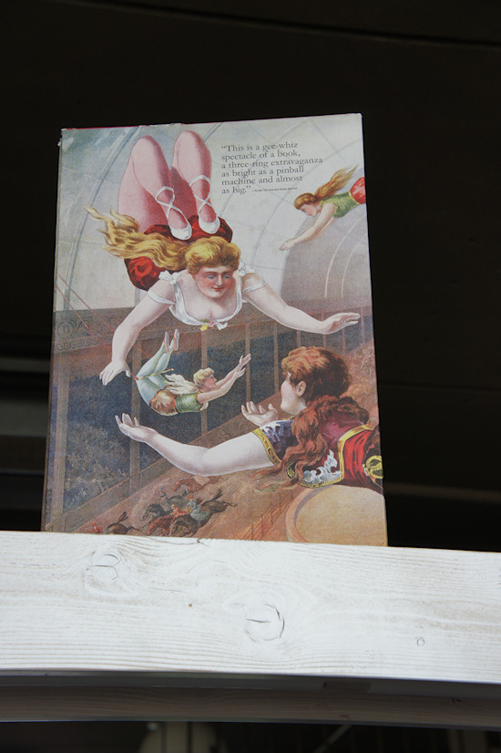 The Circus Book by Daniel Noel, Backside