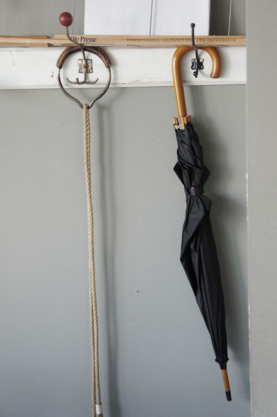 Circus Leash, Newspaper Holder and Umbrella
