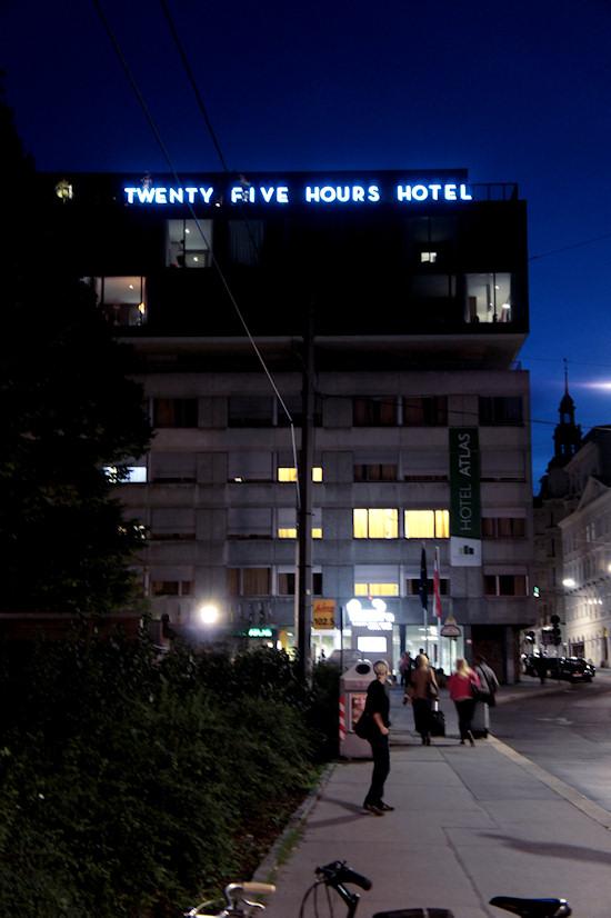 25hours Hotel Vienna At Night