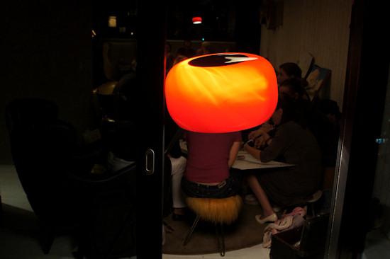 25hours Hotel Vienna Vintage Lamp