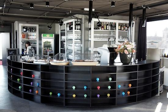 25hours Hotel Vienna Loft Dachboden Bar