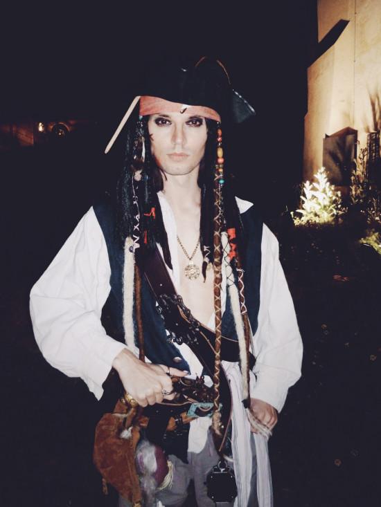 Captain Jack Sparrow @ Schwarzer Reigen