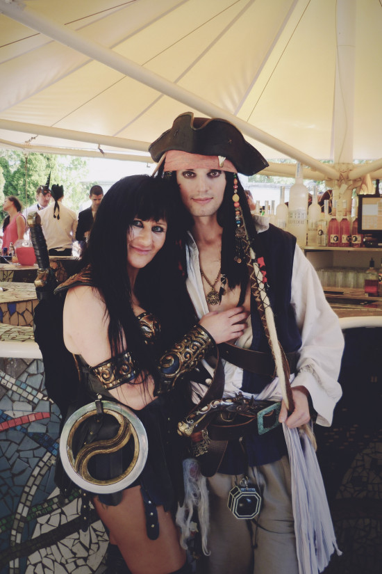 Xena and Captain Jack Sparrow @ Life Ball Afterhour Party