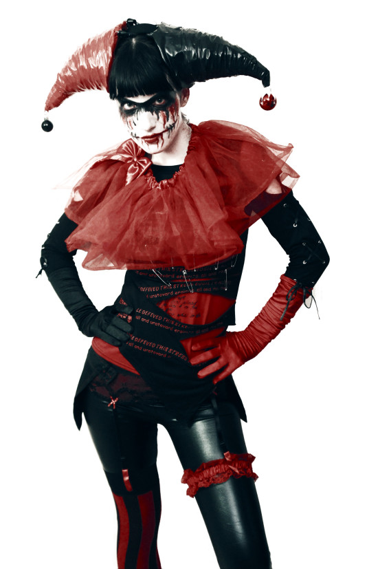 Hell-O-Wien Halloween Party Outfit Harley Quinn