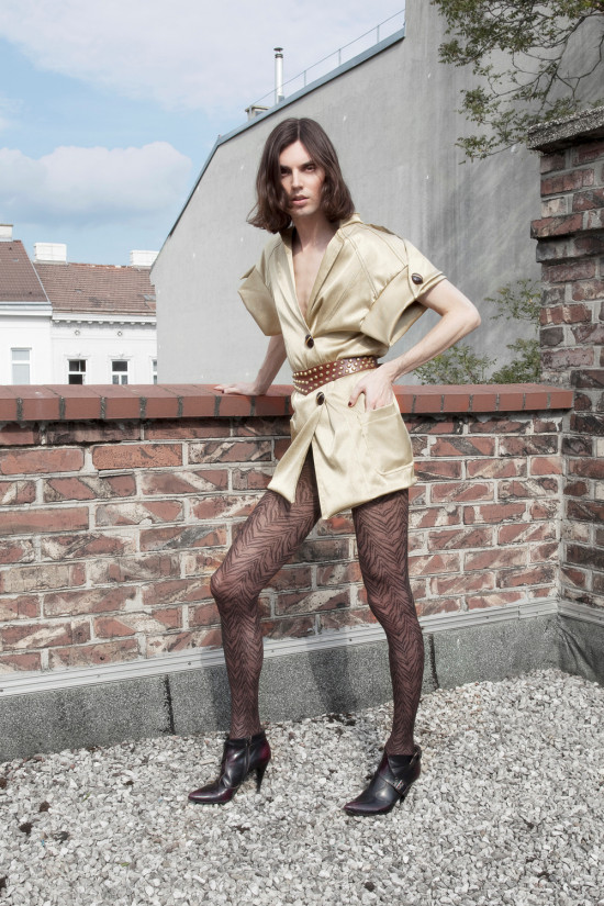 On The Rooftop | Photo by Elsa Okazaki | Fashion by Angel Transformation | Assistant Erika Dellert-Vambe | Hair and Make-up by Verena Rabl