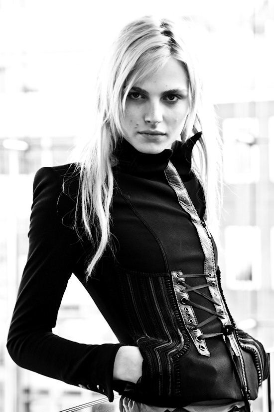 Male Super Model Andrej Pejic in Vienna