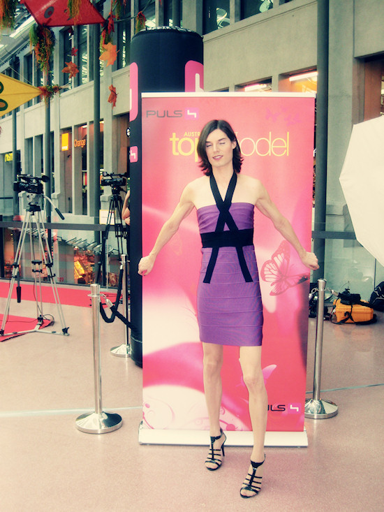 Miss Viki in Austria's Next Topmodel