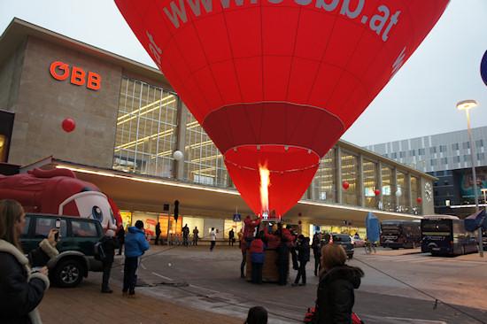 BahnhofCity Wien West: ÖBB Balloon