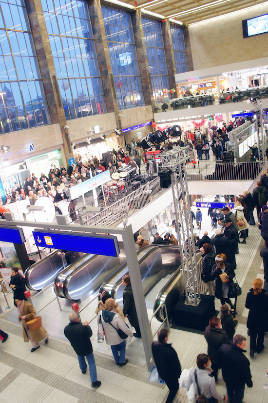 BahnhofCity Wien West: Halle