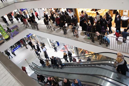 BahnhofCity Wien West: Shopping Mall