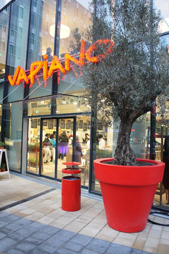BahnhofCity Wien West: Vapiano Restaurant