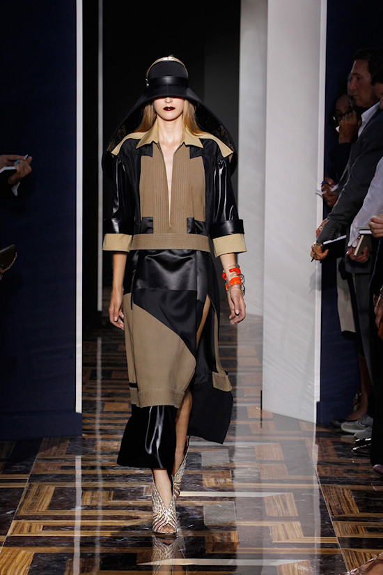 Balenciaga: Darth Vader reminiscent cape hat
