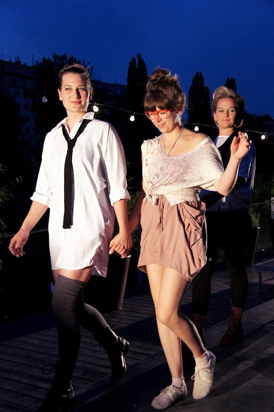 Fashion Show Lila @ Strandbar Herrmann