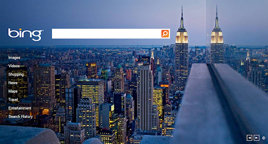 Bing Empire State Building