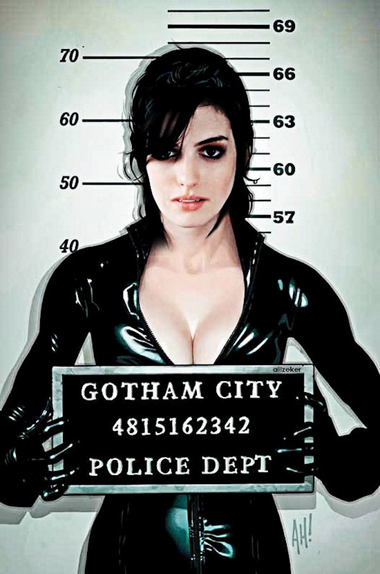 Anne Hathaway is Catwoman