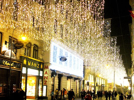 Hoher Markt Wien at Christmas