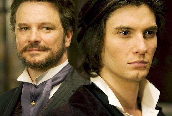 Ben Barnes and Colin Firth in  Dorian Gray
