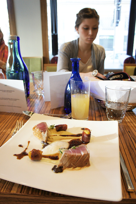 Fashion Lunch The Ring Hotel Main Course Tuna