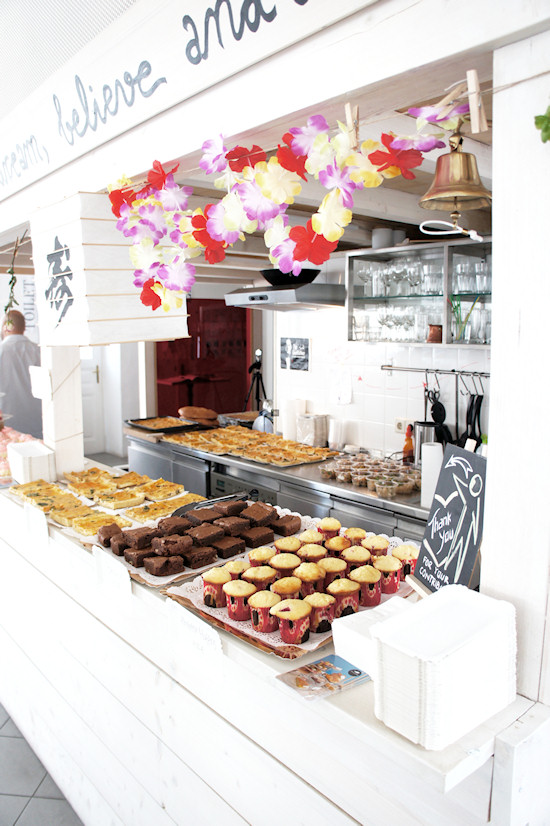 FashionCamp Vienna 2011 Buffet