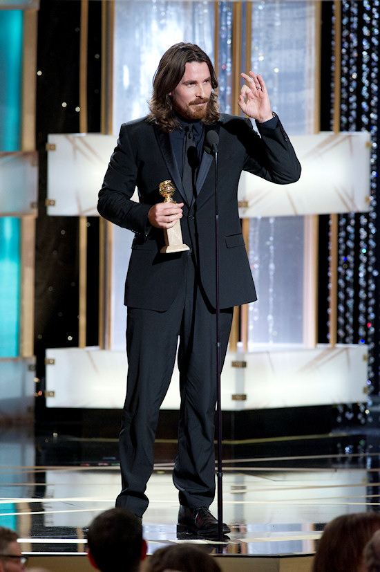 Golden Globe Awards 2011 Christian Bale