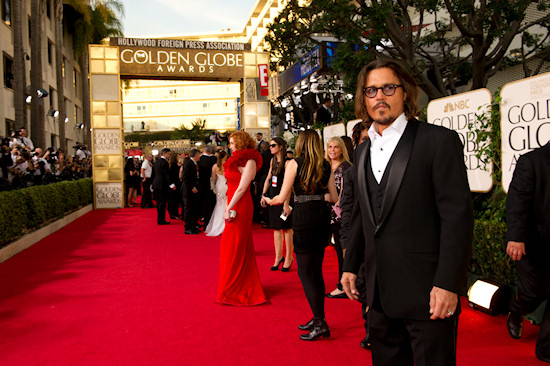 Goldne Globe Awards 2011 Johnny Depp