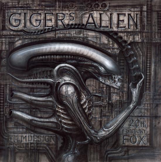HR Giger Alien