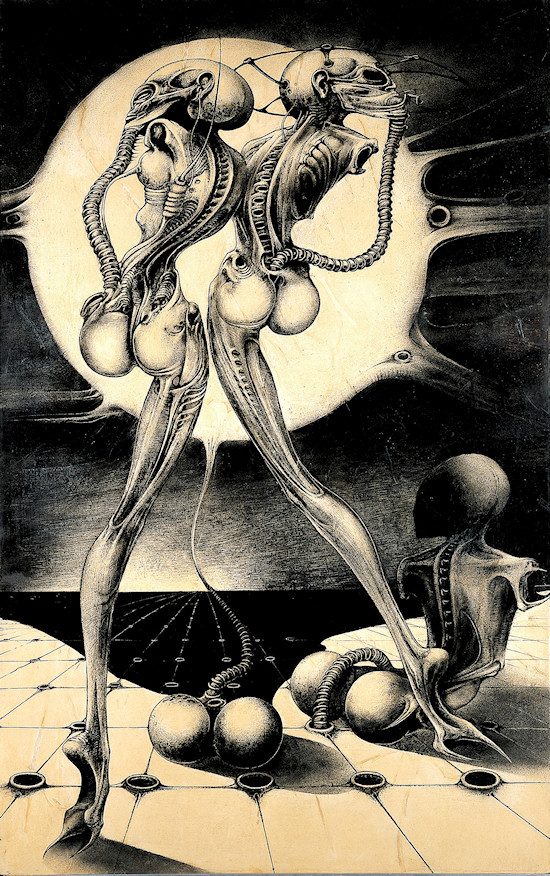 HR Giger Atomic Children