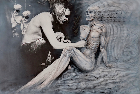 HR Giger The Second Celebration of the Four IX