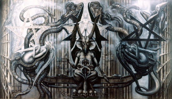 HR Giger The Spell IV