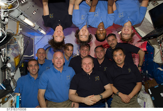 International Space Station Expedition 23 / STS-131
