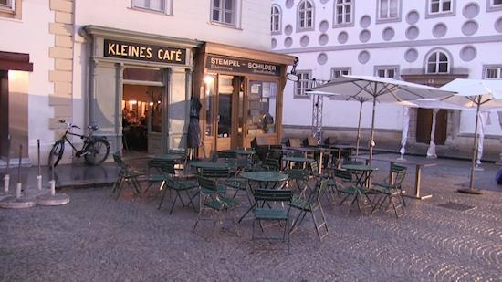 Kleiens Café Franziskanerplatz Wien
