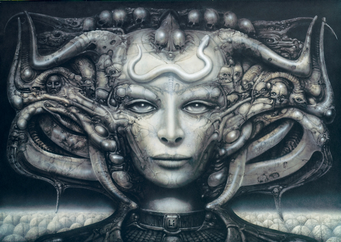 Hi, I visited the HR Giger exhibition in KUNST HAUS WIEN and am ...: vikisecrets.com/news/art-noir-by-hr-giger