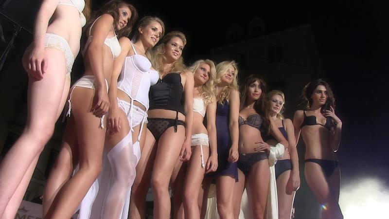 Fashion lingerie show video