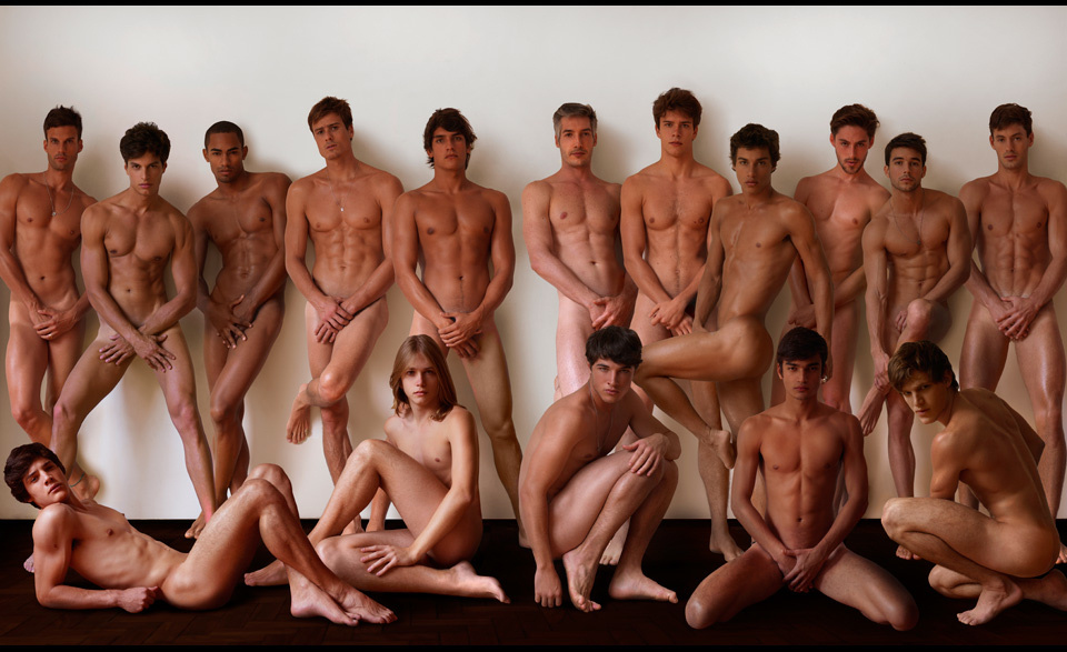 Male Model Citizens Stripped Bare