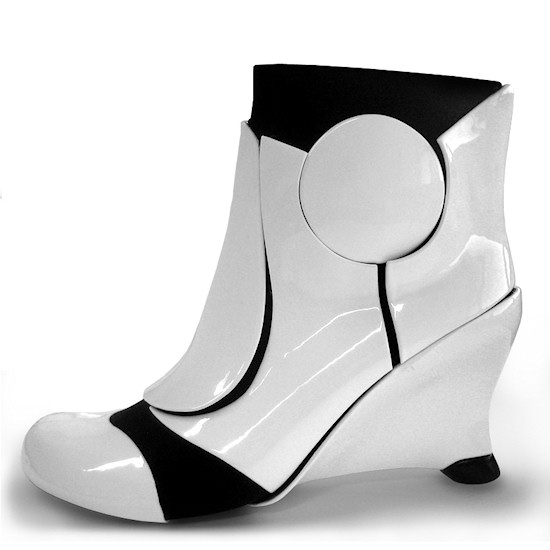 Liam Fahy Star Wars Stormtrooper Heels White