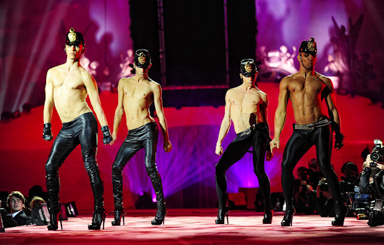 Kazaky for Dsquared2 @ Life Ball 2011
