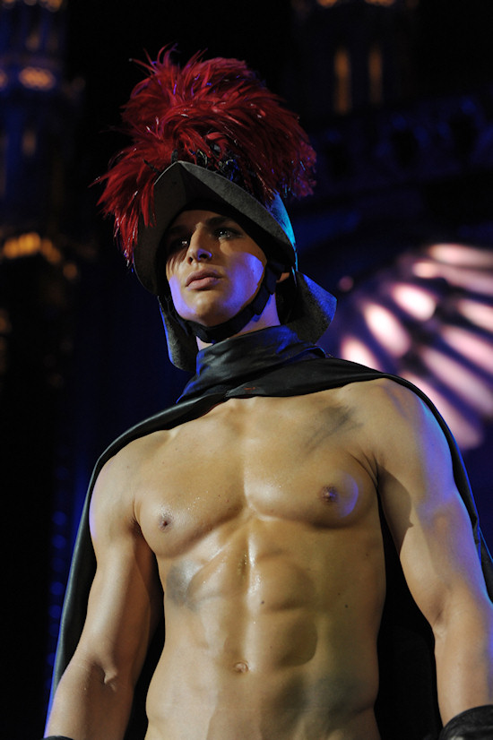 Male Model Life Ball 2011 Dsquared2