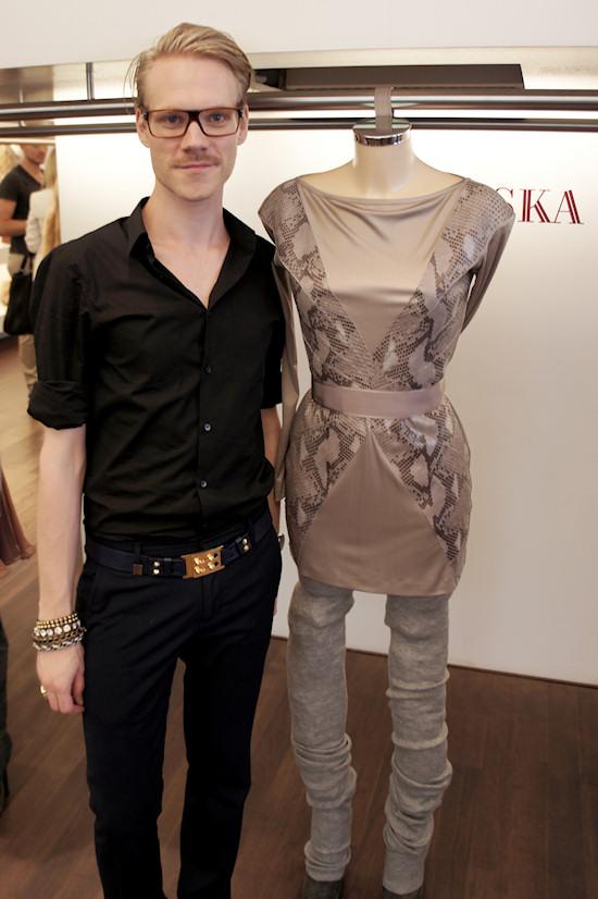 LISKA fashion designer Thomas Kirchgrabner