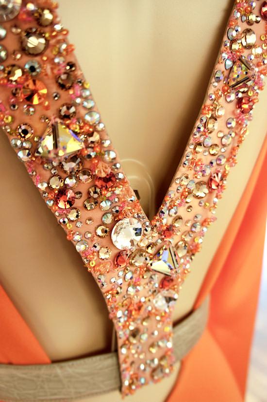 LISKA crystal embroidered harness