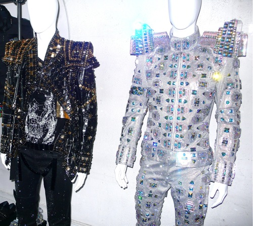 Michael Jackson's This Is It Lightman Costume by Zaldy