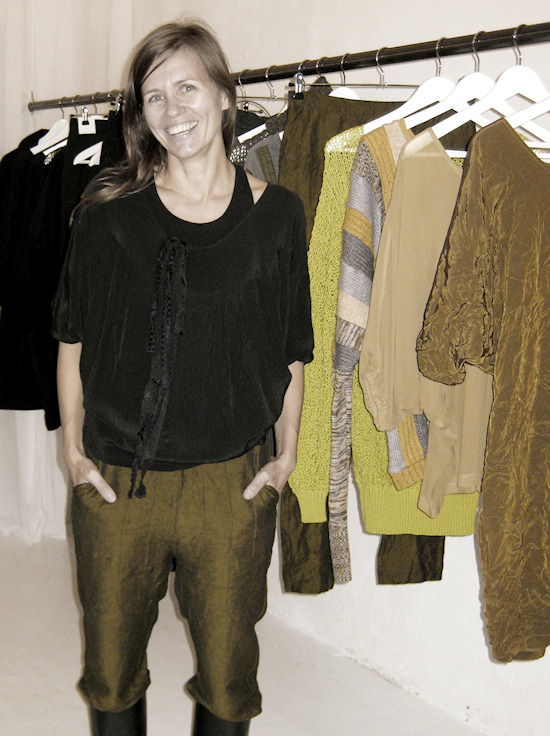 Showroom mija t. rosa Fashion Designer Julia Cepp
