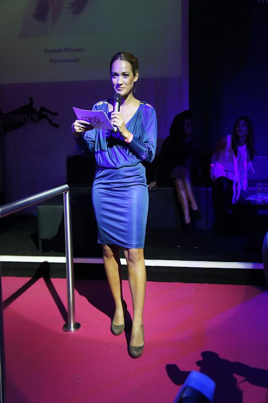 Moderator Bianca Schwarzjirg Miss Style 2011
