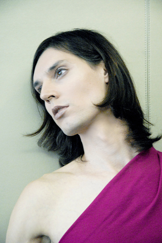 Miss Viki | Magenta Interlock