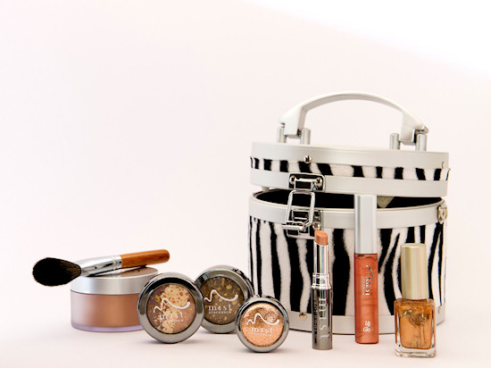 mist Stockholm zebra makeup box