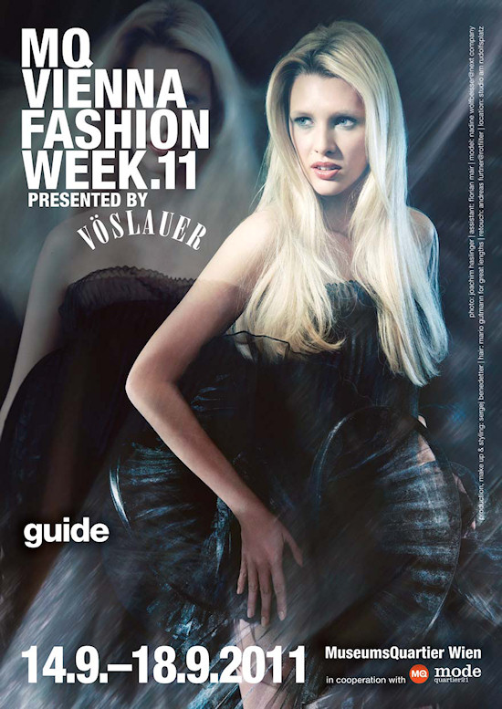 MQ Vienna Fashion Week 2011 Guide Cover