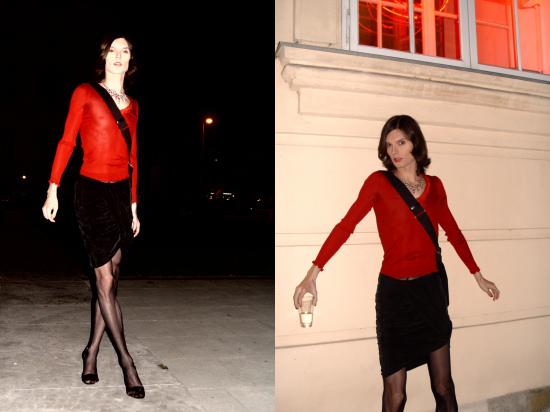 Miss Viki at MQ Vienna Fashion Week 2009
