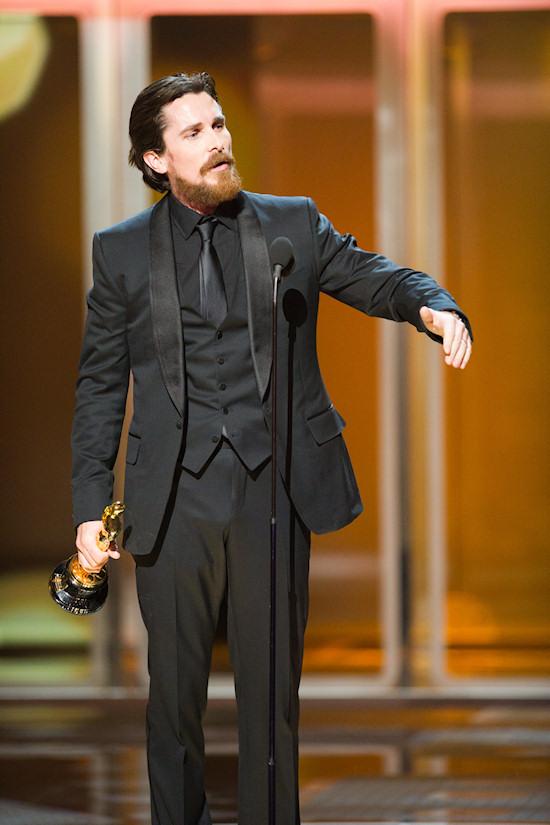 Oscars 2011 Christian Bale